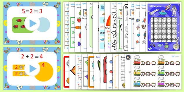 Year One Addition And Subtraction Resource Pack Year One