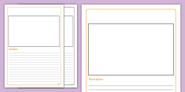 editable missing lost pet writing frames