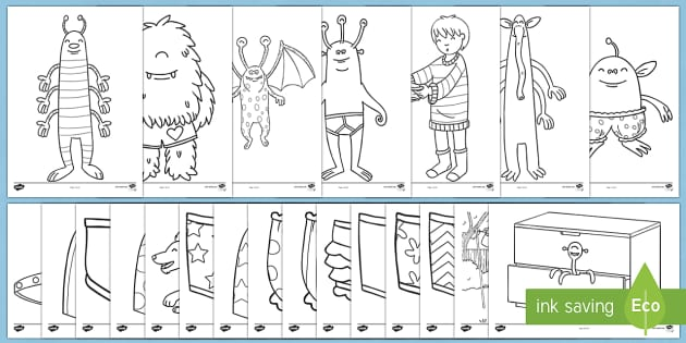 Story Colouring Sheets To Support Teaching On Aliens Love