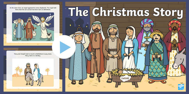 The Nativity Christmas Story PowerPoint Powerpoint Power