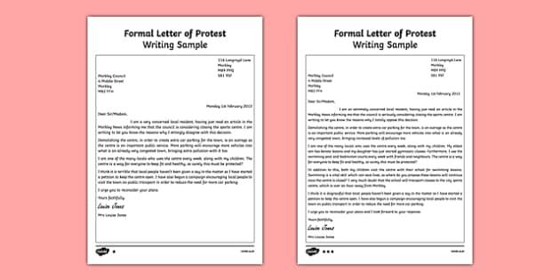 27 [pdf] FORMAL LETTER KS2 PRINTABLE DOCX ZIP DOWNLOAD - * FormalLetter