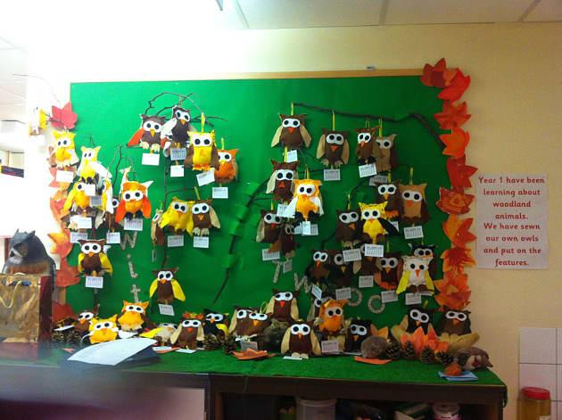 Animals Woodland Woodland Animals Display Classroom