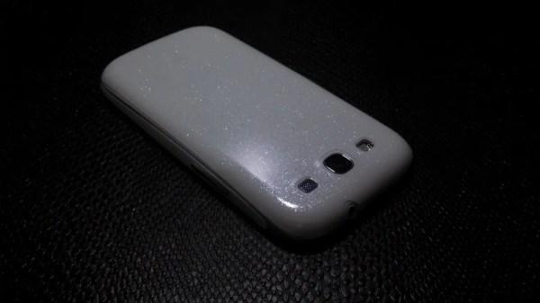 Декоративная защитная пленка для Samsung Galaxy S3 белый ...