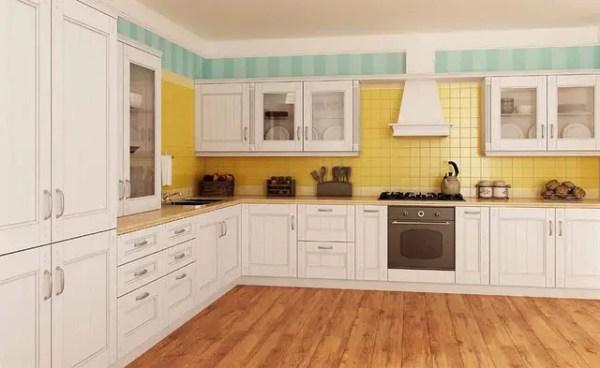 Кухни из массива ясеня под заказ киев, кухонная мебель ...