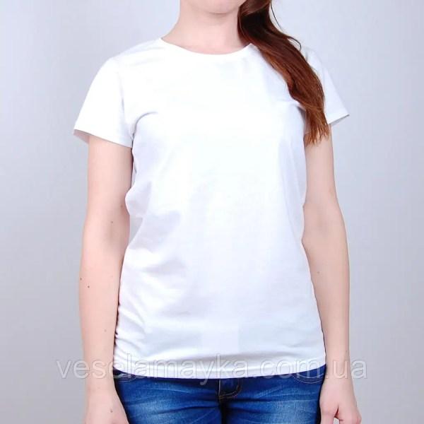 В наличии Белая женская футболка (премиум) | услуги от ...