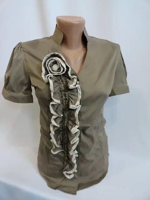 Блузы женские приталённые оптом хорошего качества самая ...