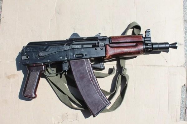 АКС-74У (Автомат Калашникова складной укороченный 5,45-мм ...