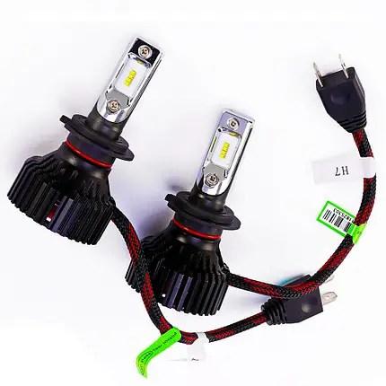 Светодиодная лампа T8 цоколь H7, GSP, 6500К, 8000 lm 30W ...