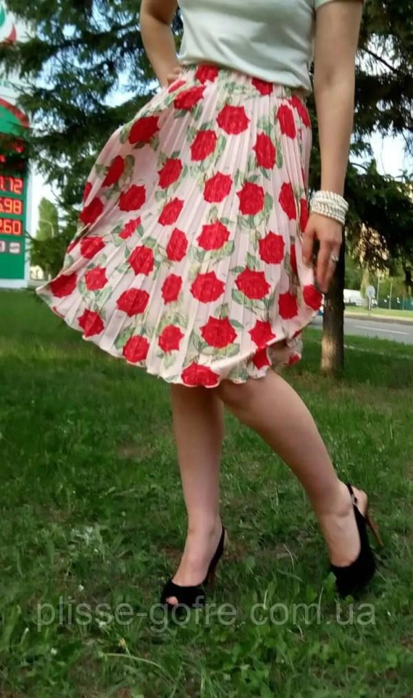 Заказать Чудесные юбочки гофре полные солнца Розовые пудры ...
