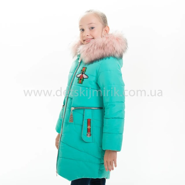 "Зимняя куртка для девочки ""Доминика"", Зима 2019 года ..."