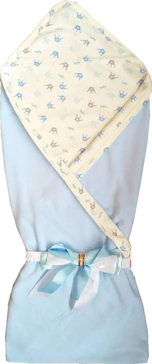 Летний трикотажный конверт-одеяло Стиляжка на выписку для ...
