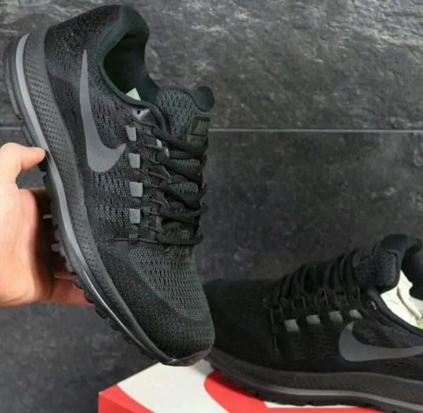 Распродажа демисезонных кроссовок Найк черные купить ...