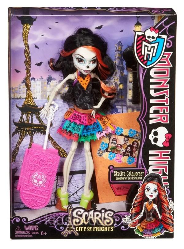 Кукла Монстр Хай Skelita Calaveras Scaris Скелита в Париже ...