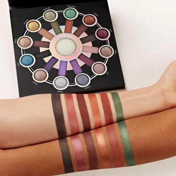 Палитра теней Cosmetics Zodiac 24 цвета + 1 хайлайтер ...