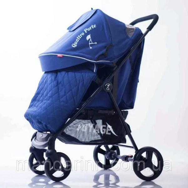 Детская коляска Quattro Porte QP234 Blue Синяя продажа