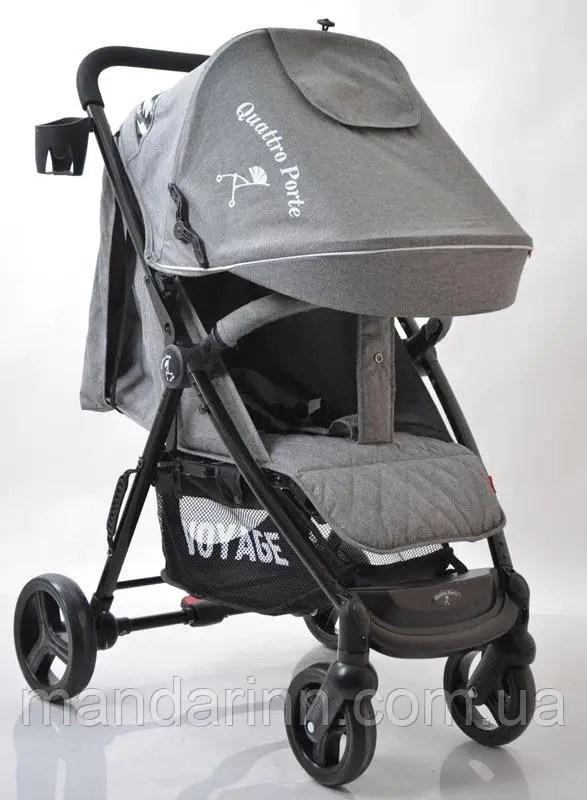 Детская коляска Quattro Porte QP234 Grey Серая продажа