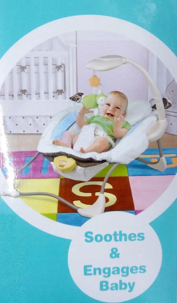 Кресло для малышей музыкальное 68111, шезлонг, качалка ...