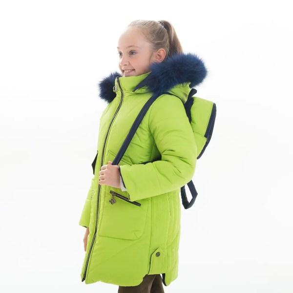 """Зимняя куртка для девочки """"Рюкзачек"""", Зима 2019 года ..."""