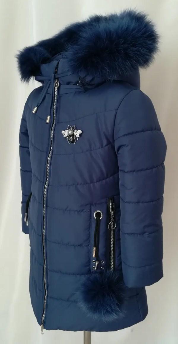 Детские зимние куртки для девочек с натуральным мехом 28 ...