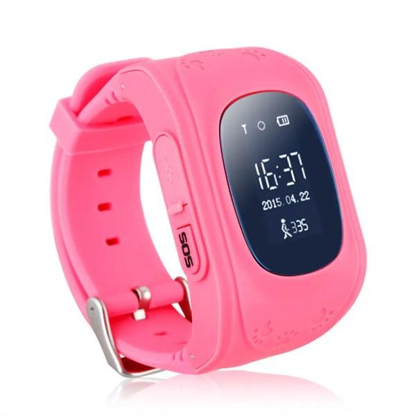 Детские умные часы Smart Watch GPS трекер Q50/G36 Pink ...
