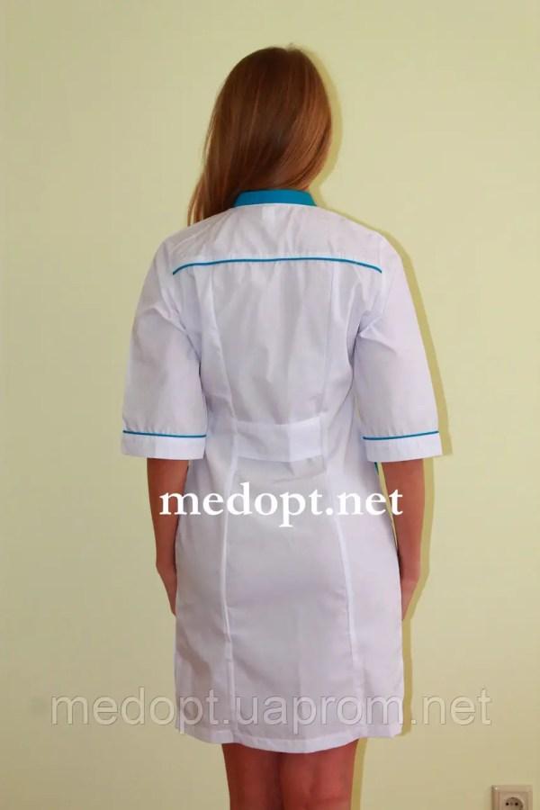 Халат медсестры белый (батист) 2150: продажа, цена в ...