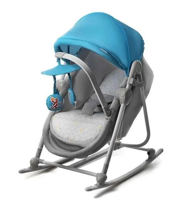 Кресло-качалка детское 5в1 UNIMO от Kinderkraft для детей ...