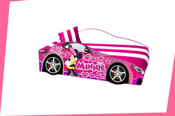 Кровать машинка Леди Пинк машина серии Элит Minnie ...