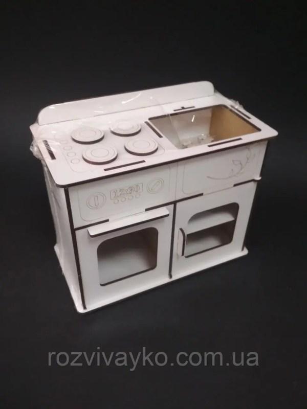 Кухонная плита и мойка для барби (кухня для куклы ...