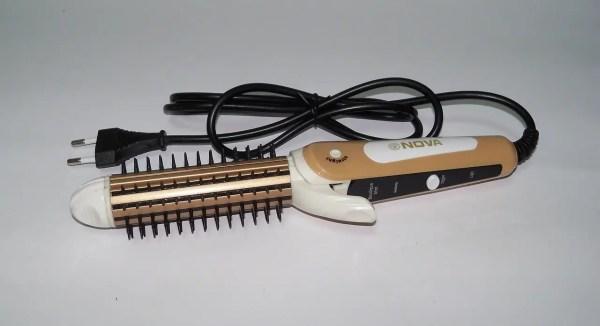 Плойка-утюжок-гофре с расческой для волос Nova NHC-8890 ...
