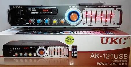 Профессиональный рэковый стерео усилитель AMP UKC AK ...