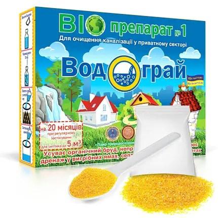 Водограй 400 г бактерии для выгребных ям - купить по ...