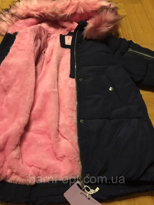 Куртки зимние для девочек F&D, в остатке 10, 12 рр ...