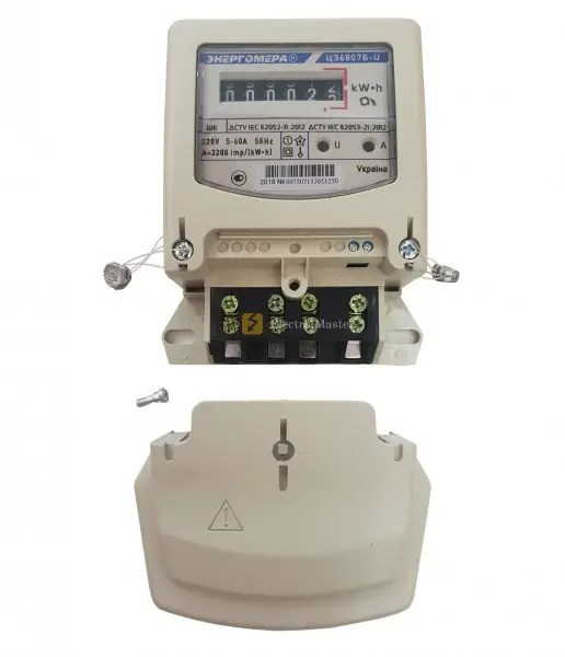 Электросчетчик (счетчик электроэнергии) Энергомера ЦЭ6807Б ...