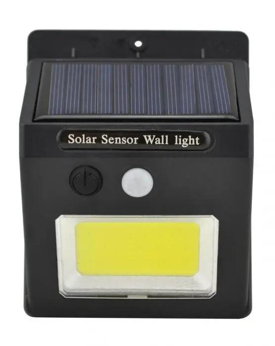 Уличный фонарь с датчиком движения на солнечной батарее Sh ...