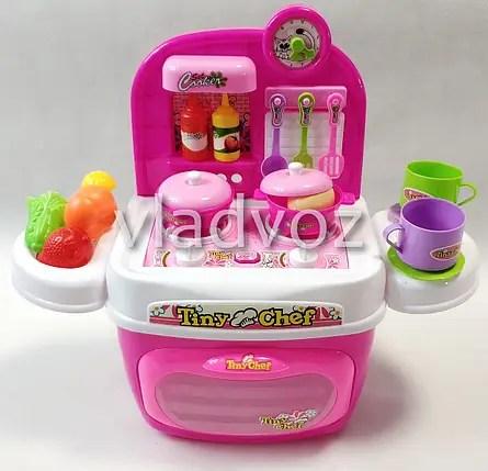 Купить Детская пластиковая игровая кухня для девочки ...