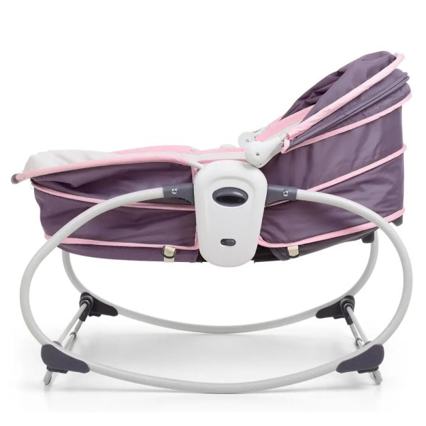 Детская люлька для новорожденного Mastela 5в1 серо-розовый ...