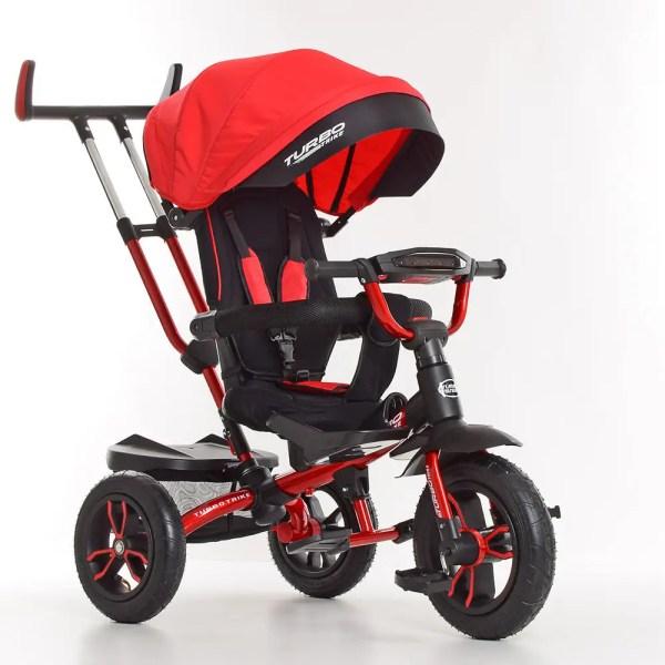 Детский красный велосипед коляска Турбо Трайк M 4058-1 с ...