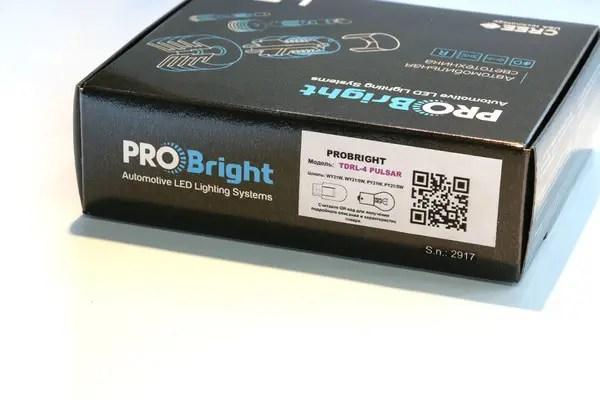 Дневные ходовые огни в поворотники ProBright TDRL 4,5 ...