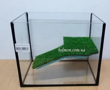 Аквариум для черепахи с мостиком 25*20*20, 10 л: продажа ...