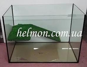 Аквариум для черепахи с мостиком 50*30*35, 52 л: продажа ...