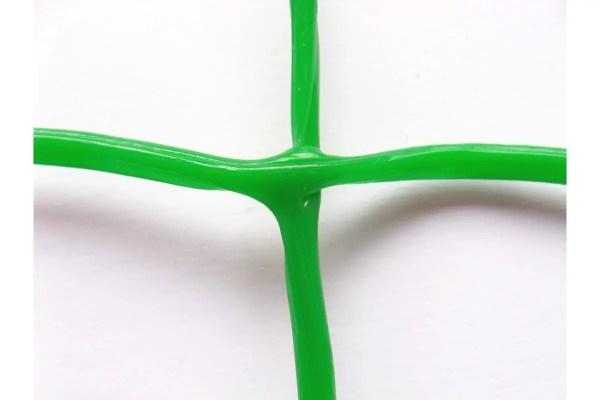 Пластиковая декоративная сетка для забора зеленого цвета ...