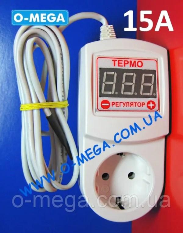 Терморегулятор цифровой ЦТР3-2ч для инкубатора в розетку ...