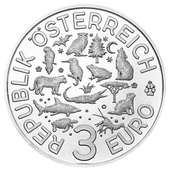 Австрия 3 евро 2019 г. Черепаха , UNC.: продажа, цена в ...