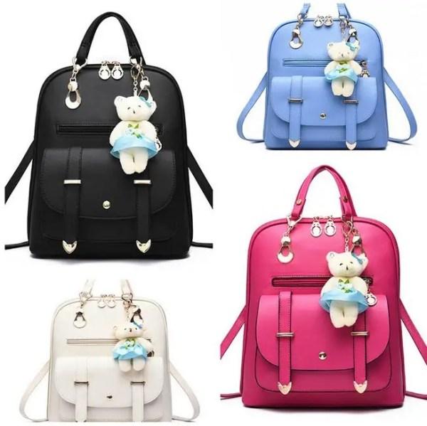 Элитные рюкзаки с брелком мишка для школы от интернет ...