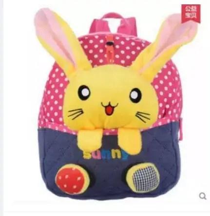 Сказочные детские рюкзаки с кроликом в кармане от интернет ...