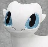 Мягкая игрушка Дракон Фурия Беззубик белый, 60см, Как ...