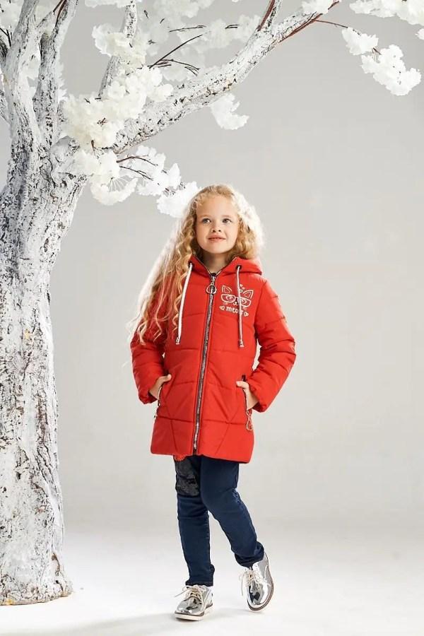 Удлиненная демисезонная куртка на девочку 4-8 лет весна ...