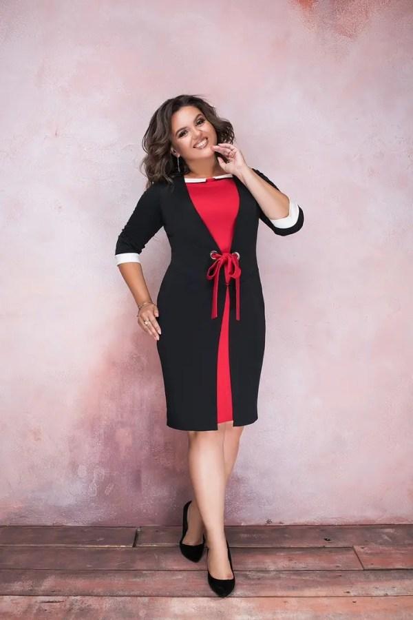 """Платье больших размеров """" Коктейль """" Dress Code: продажа ..."""