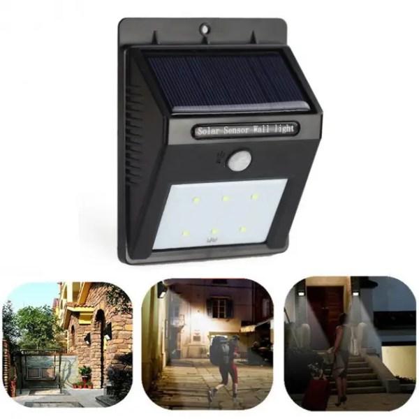 Светодиодный навесной фонарь на солнечной батарее с ...
