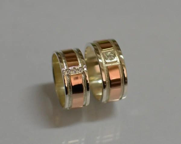 Купить Пара обручальных колец из серебра в Белой Церкви от ...